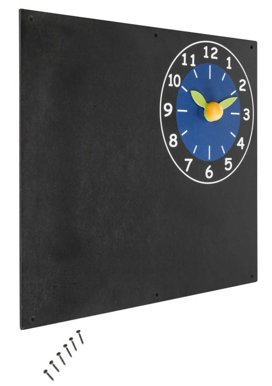Maltafel mit Uhr für Kinder Spielturm