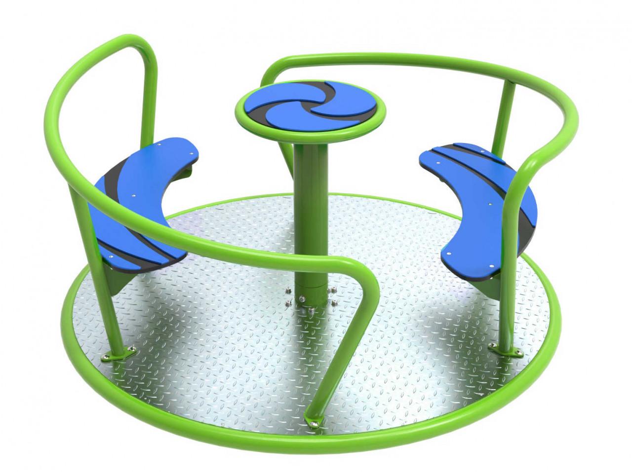 Karussell, Sitzkarussell für Kinder, Spielplatz