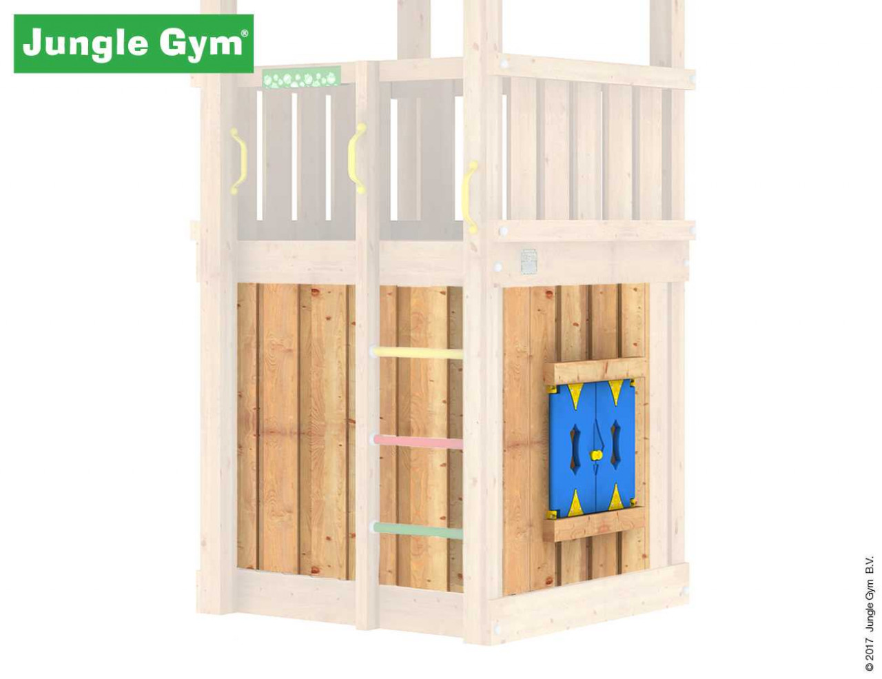 Jungle Gym Playhouse-Modul, Spielhaus-Modul