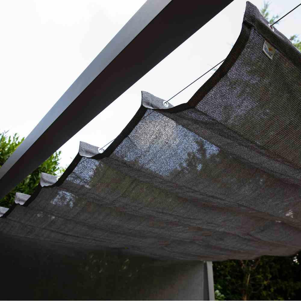 Coolfit Faltsonnensegel von Nesling 290 x 400 cm, Sonnensegel, verstellbar, Sonnenschutz