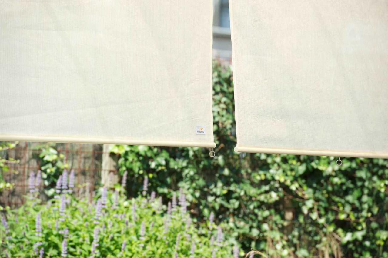Nesling Rollo 98 cm Außenrollo, Sonnenschutz, Sichtschutz, Balkonrollo