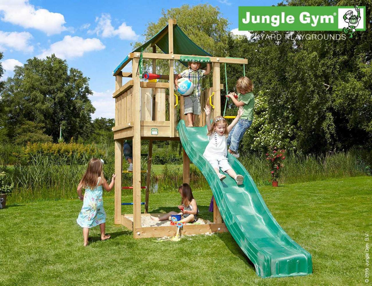 Kletterturm Jungle Gym Lodge