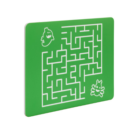 Spielwand, Spieltafel, Kinder, Motorik, Labyrinth Quadrat