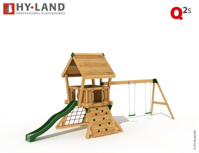 Spielturm Hy-Land Q2-S