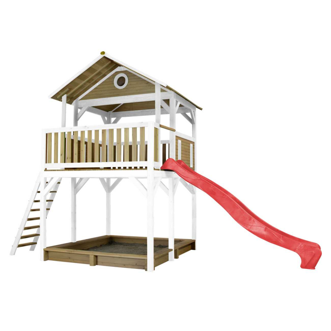Kinder Spielturm Woody von Axi mit 2,90 m langer Rutsche