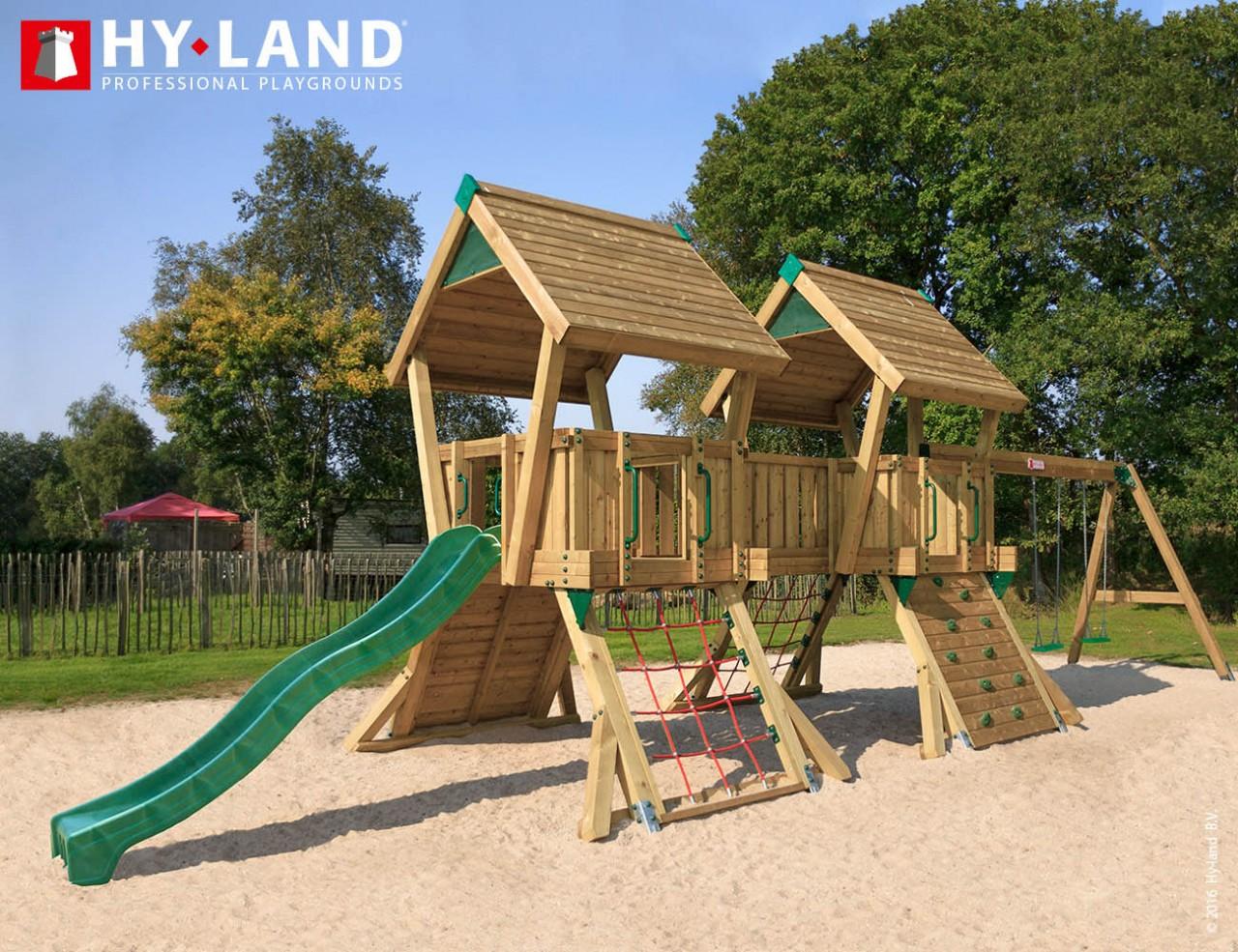 Spielturm Hy-Land Q4-S in Douglasie