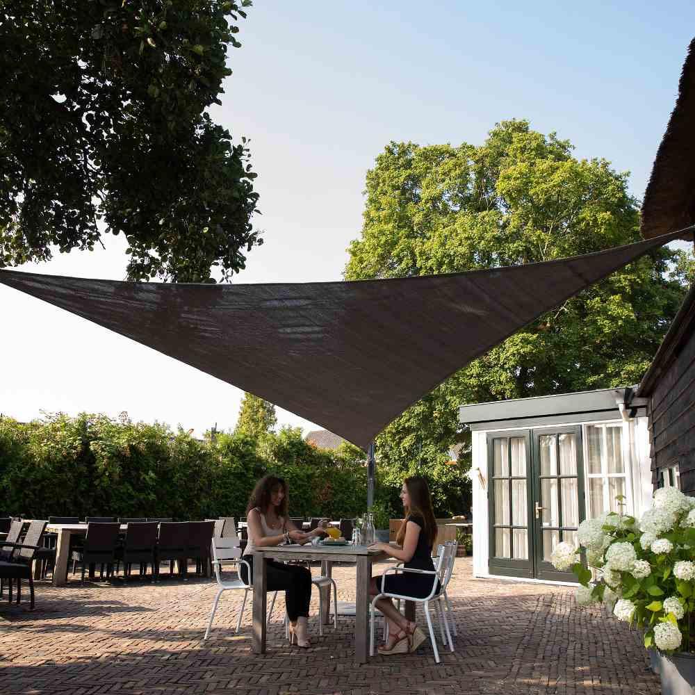 Coolfit Sonnensegel von Nesling, 3-eckig, 500x500x500 cm