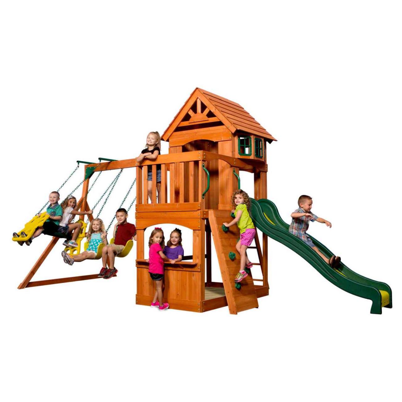 Spielturm Atlantic von Backyard
