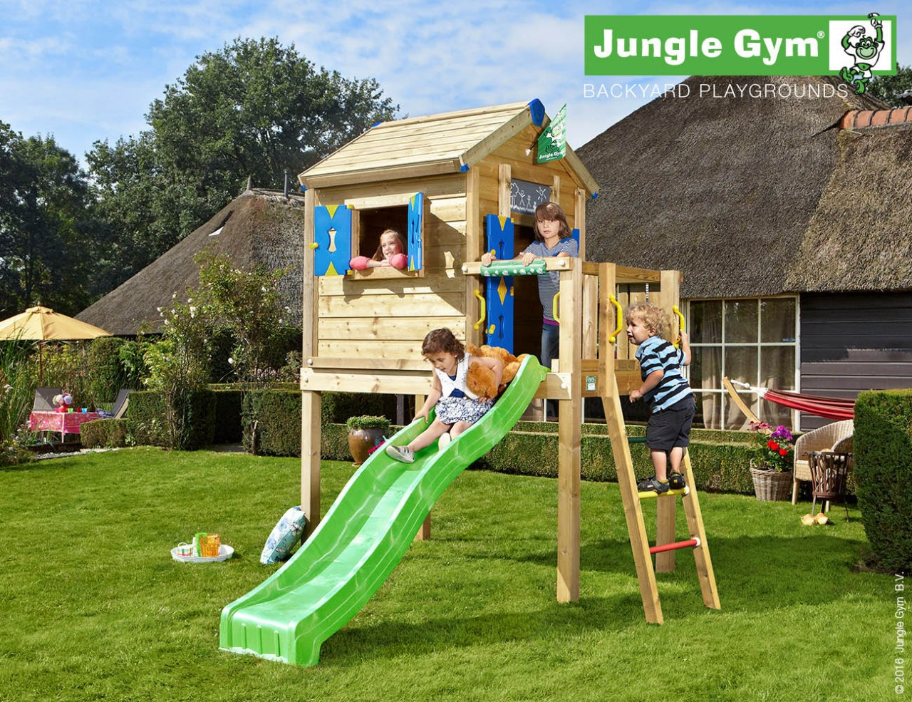 Stelzenhaus Kinder Jungle Gym Playhouse L