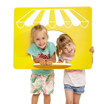 Spielwand Kaufladen für Kinder