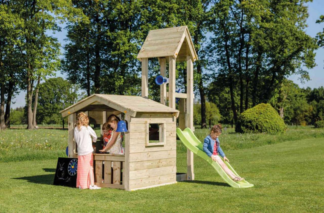 Spielturm, Spielhaus, Blue Rabbit Lookout