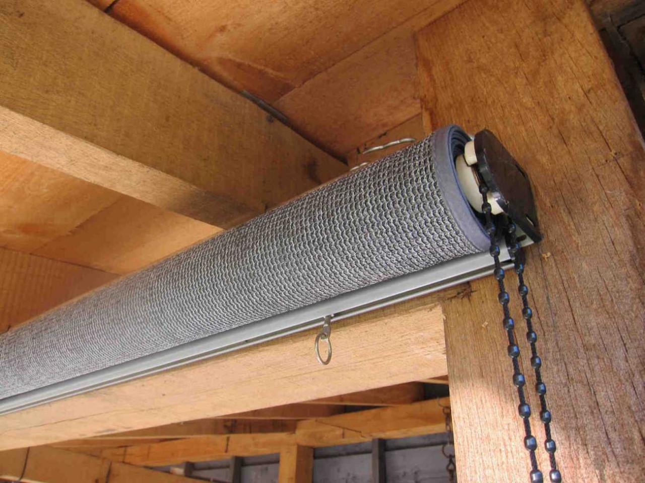 Nesling Rollo 198 cm Außenrollo, Sonnenschutz, Sichtschutz, Balkonrollo