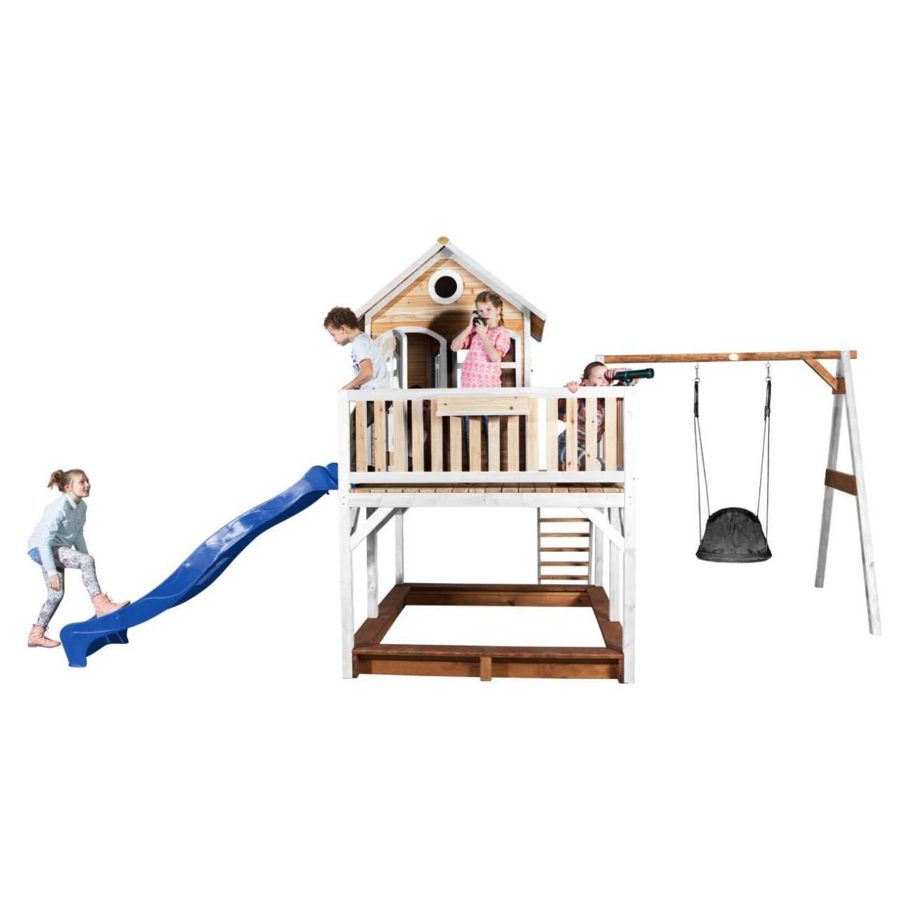 Axi Stelzenhaus Liam mit Nestschaukel Grandoh, Kinder Spielhaus