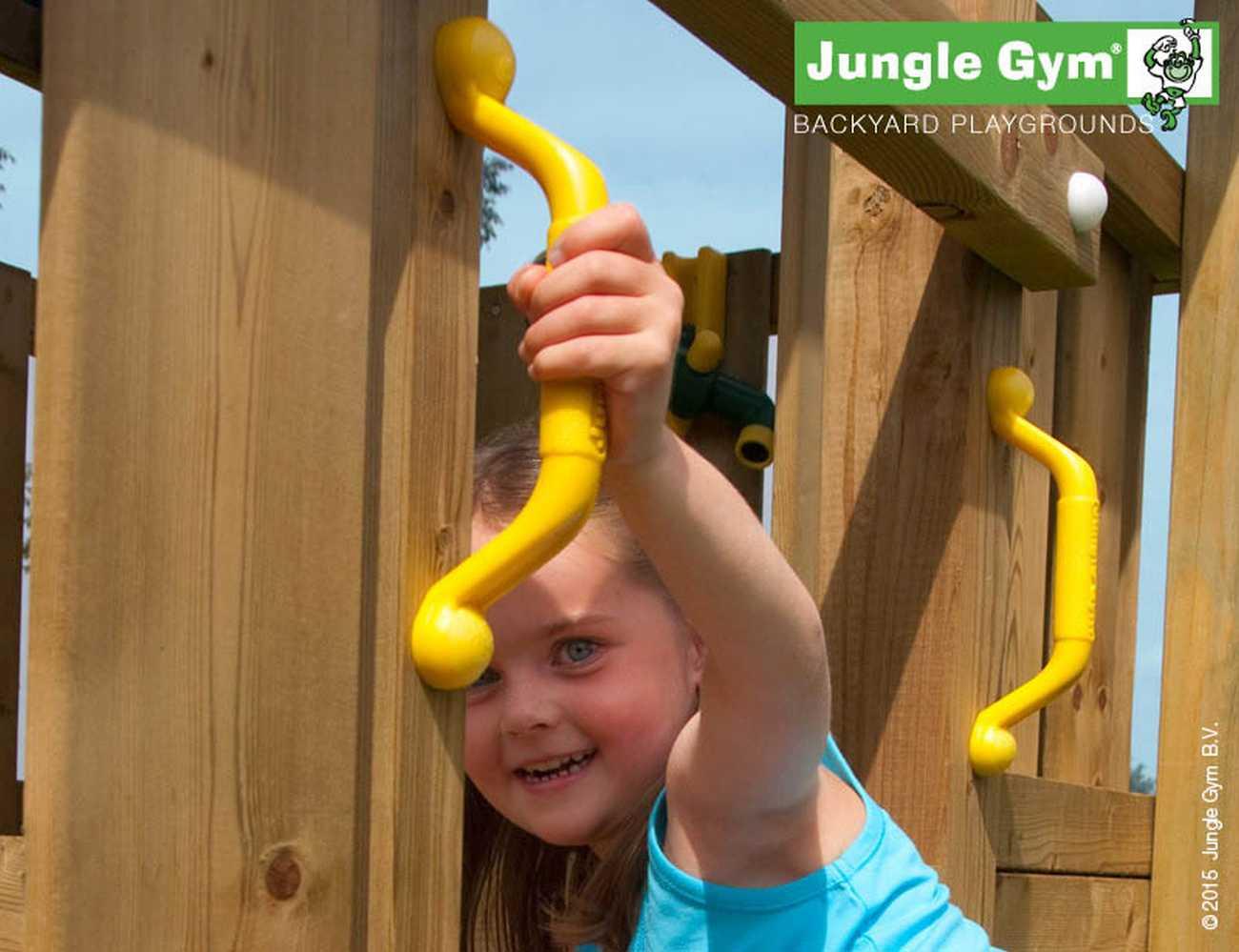 Klettergerüst Jungle : Spielturm jungle gym villa climb modul inkl rutsche grün jetzt