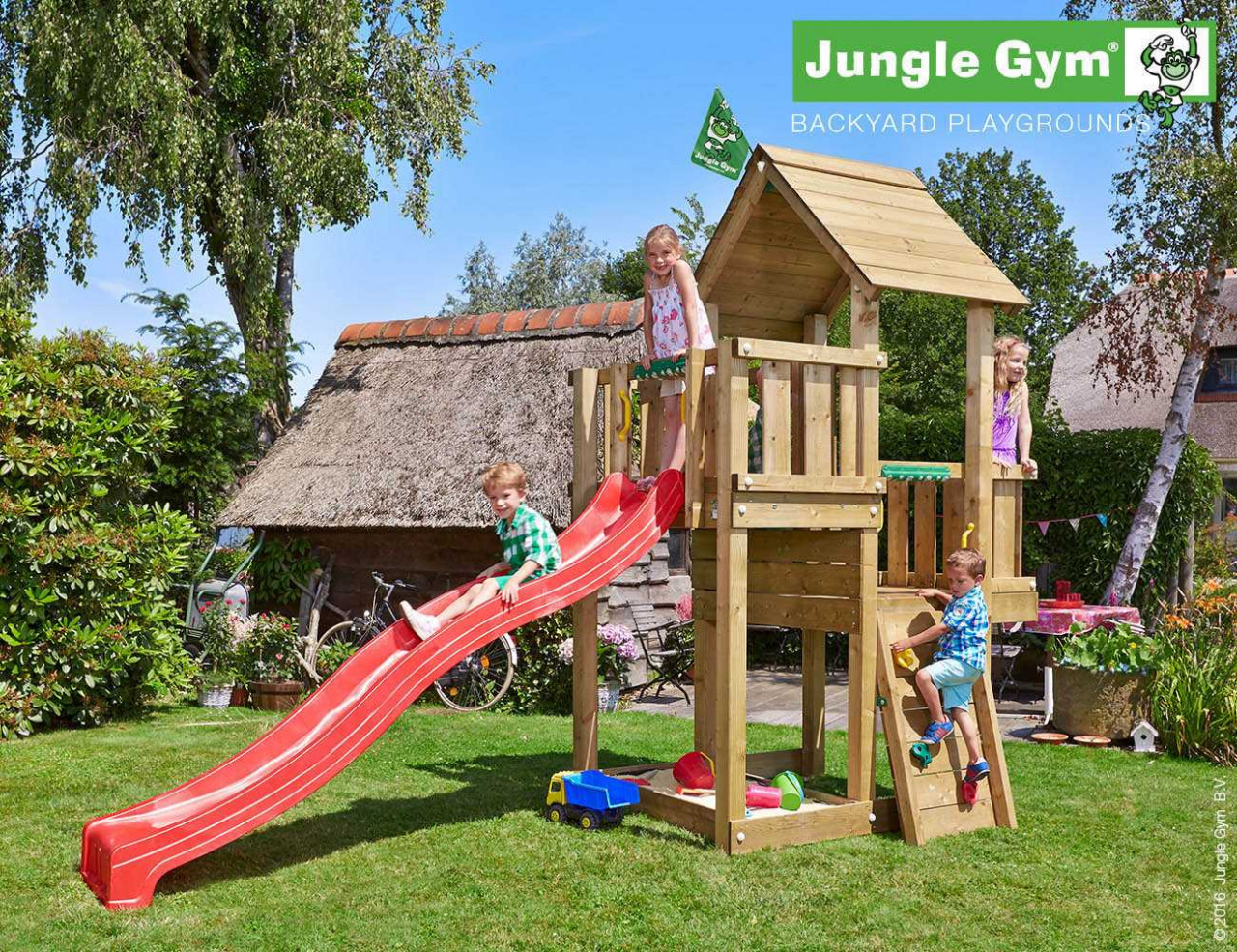 Spielturm Jungle Gym Cubby