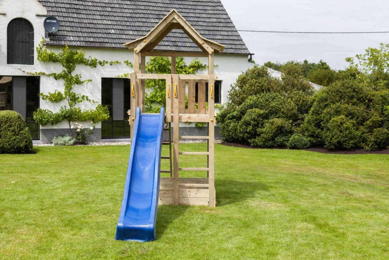 Spielturm Pagoda von Blue Rabbit in Douglasie natur