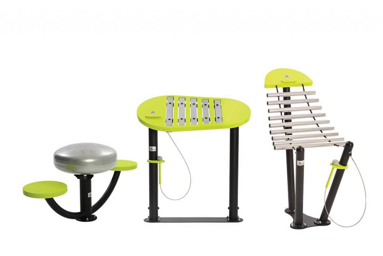 Natural Rhythm Set - Musikinstrumente für Spielplätze und Parks