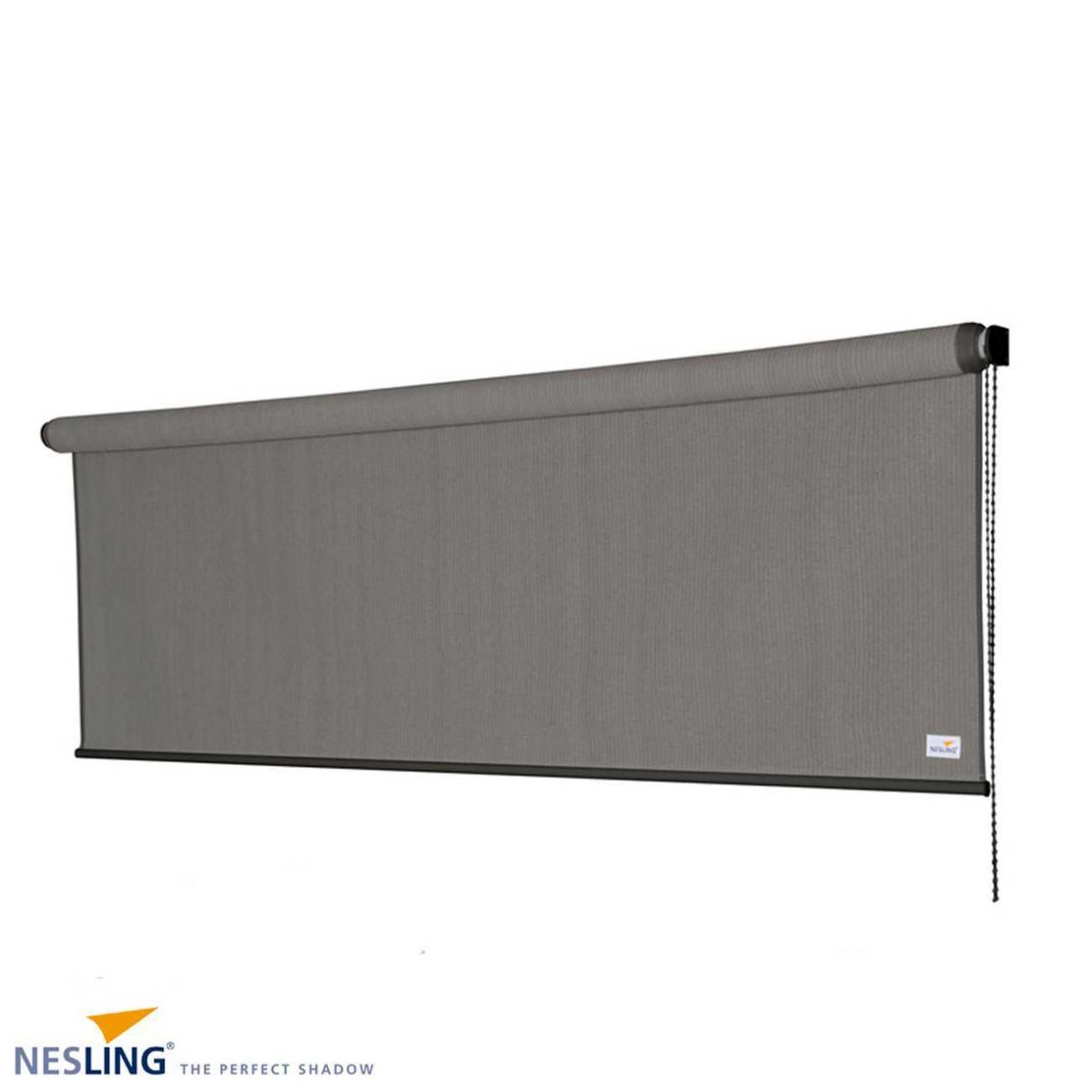 Nesling Rollo 296 cm Außenrollo, Sonnenschutz, Sichtschutz, Balkonrollo