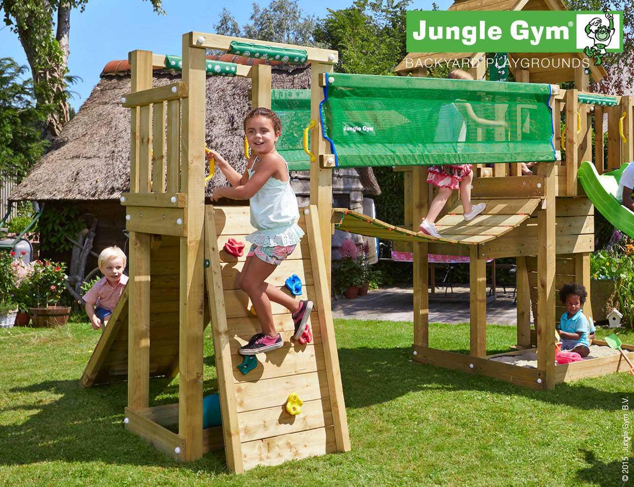 wooden-climbing-frames-bridge-module