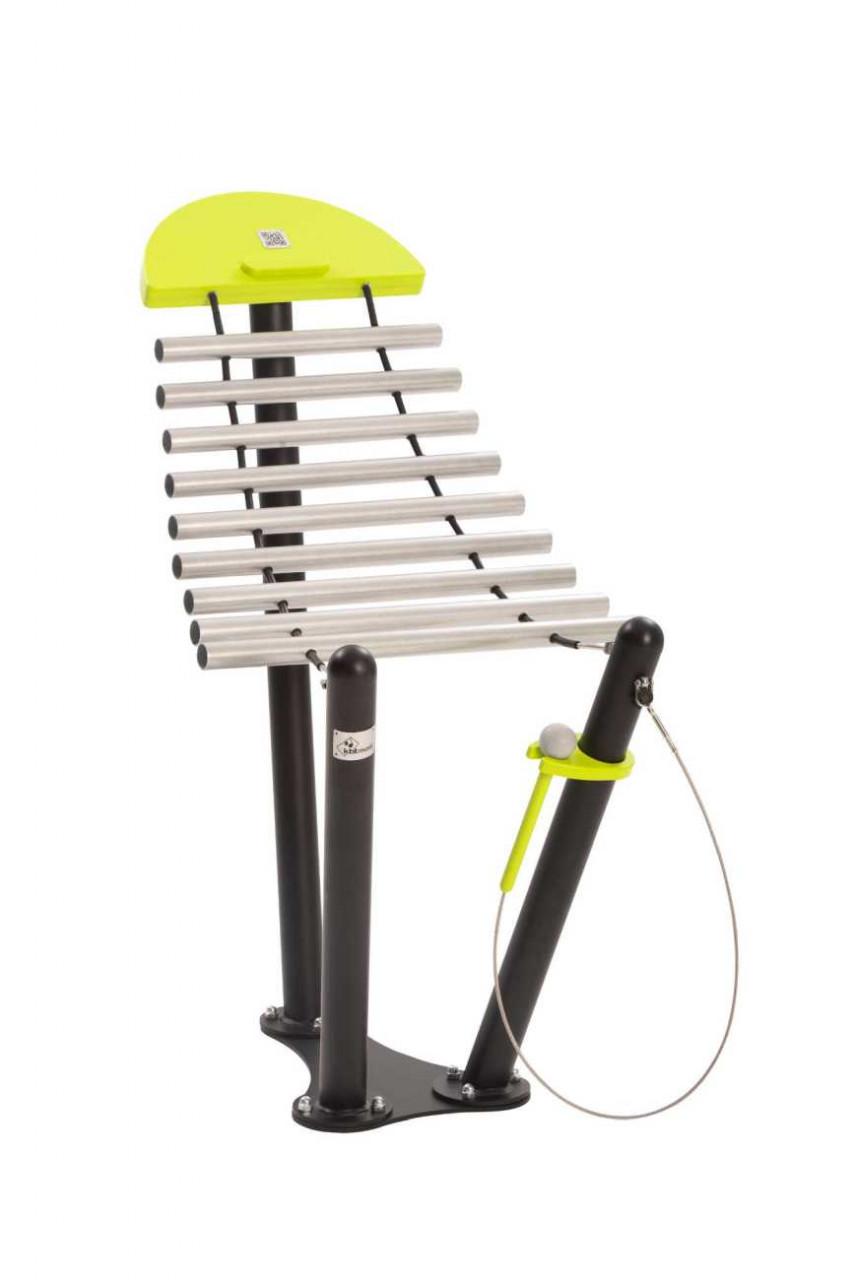 Merimba Stream, Outdoor Musikinstrument, für Spielplätze und Parkanlagen