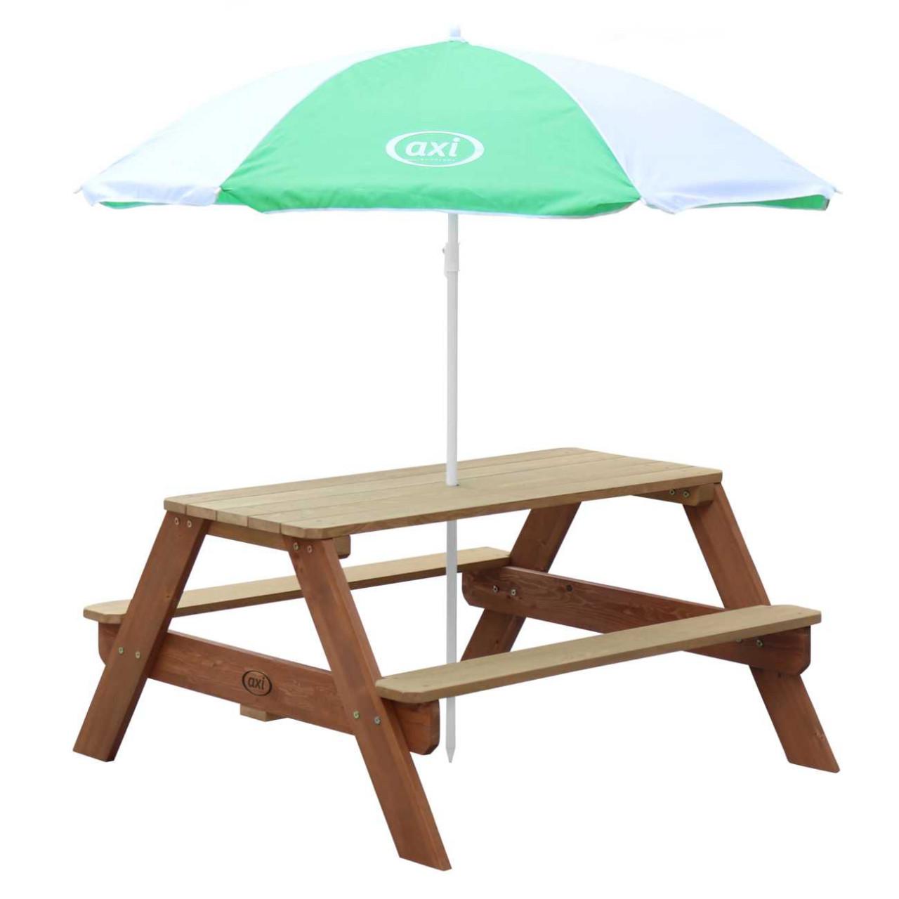 Nick Picnic-Tisch mit Sonnenschirm für Kinder