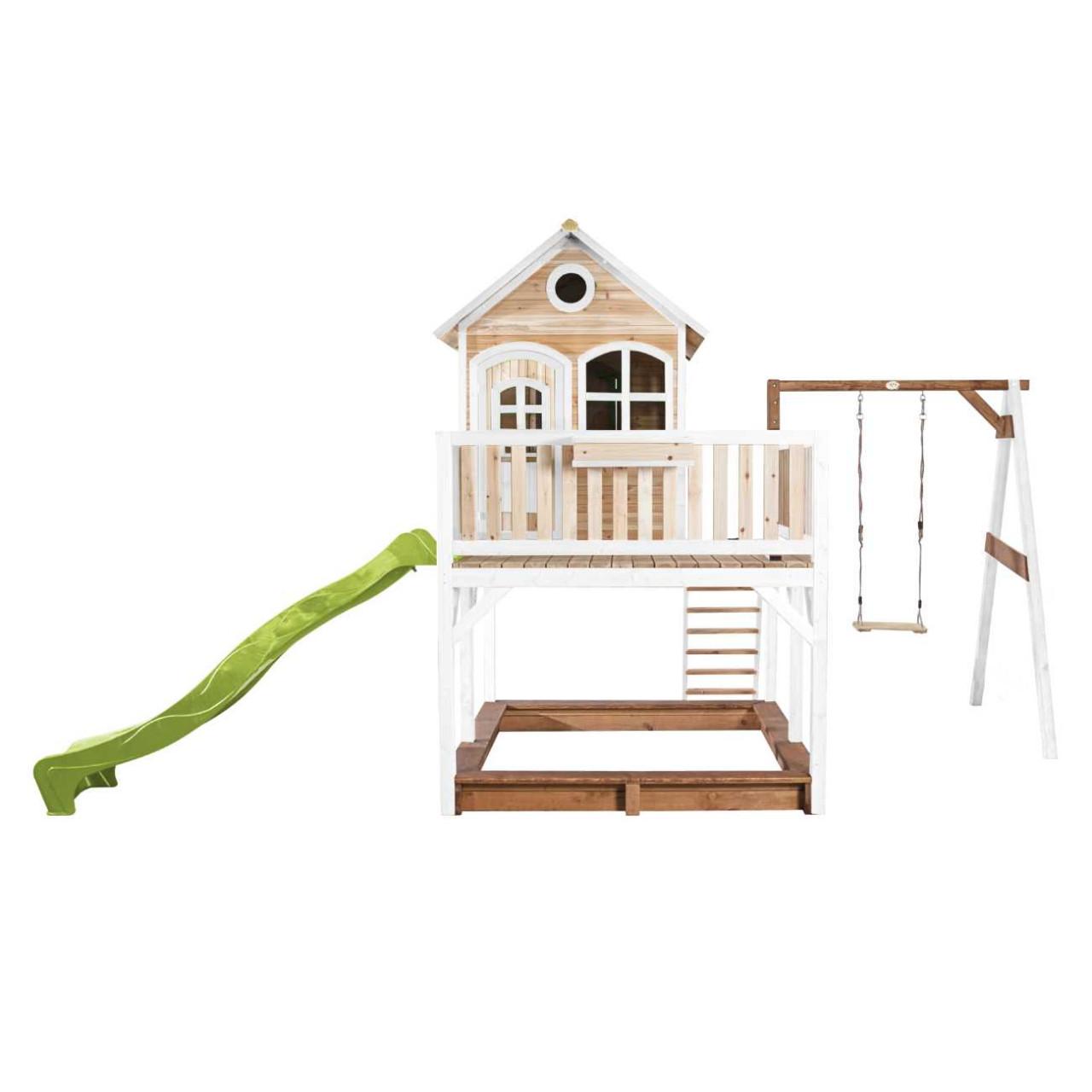 Axi Stelzenhaus Liam mit 1-Schaukel, Kinder Spielhaus