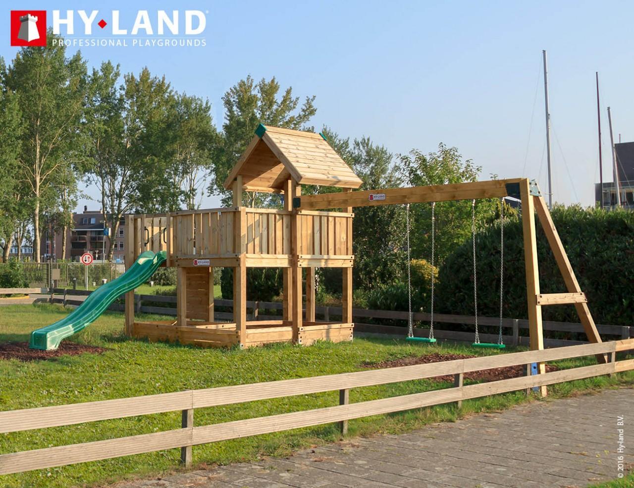 Spielturm Hy-Land P5-S in Douglasie