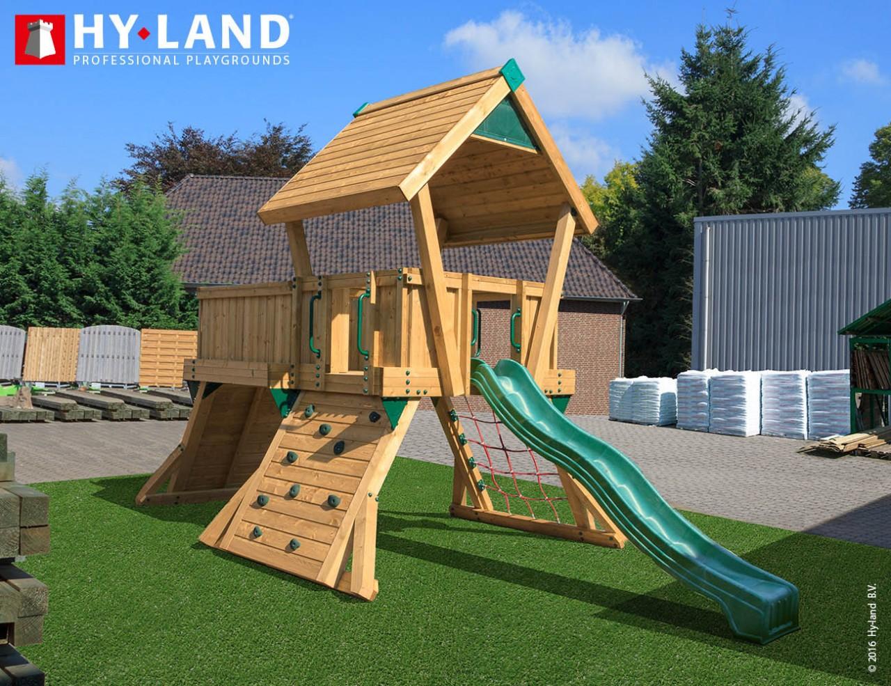 Spielturm Hy-Land Q3 in Douglasie