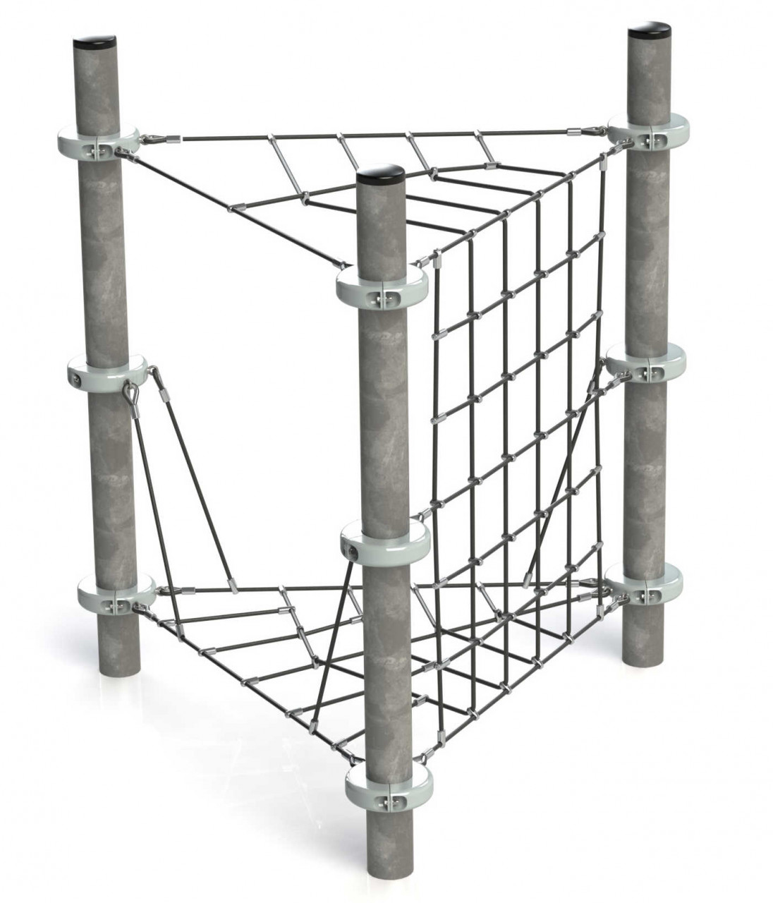 Klettergerüst Kletternetz Pergola für Kinder Spielplätze nach DIN EN 1176