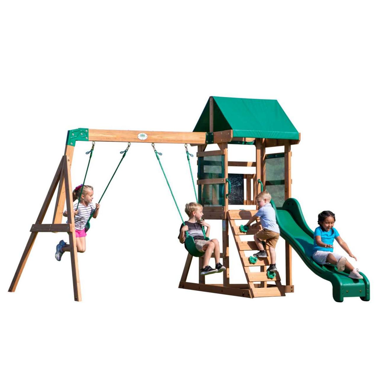 Backyard Spielturm Buckley Hill, Spielturm mit Schaukel und Rutsche