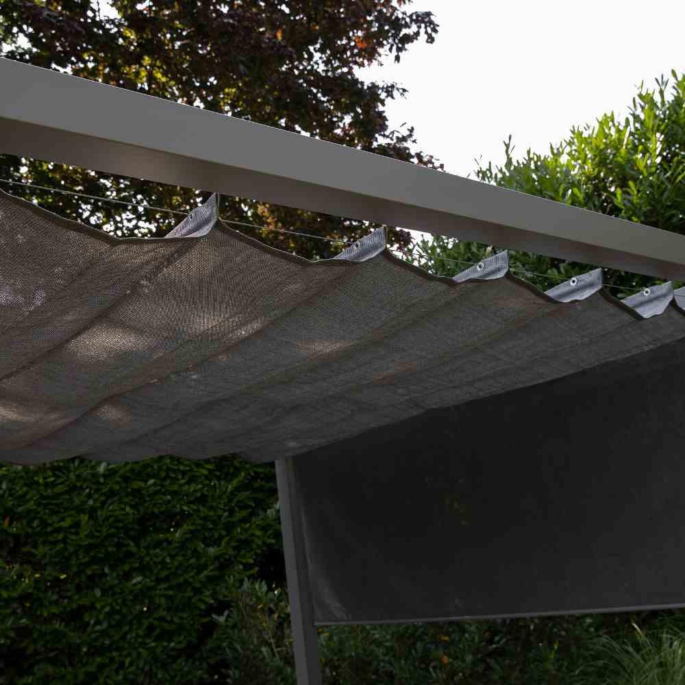 Coolfit Faltsonnensegel von Nesling 2,0 x 4,0 m, Beschattung, Sonnenschutz, verstellbar