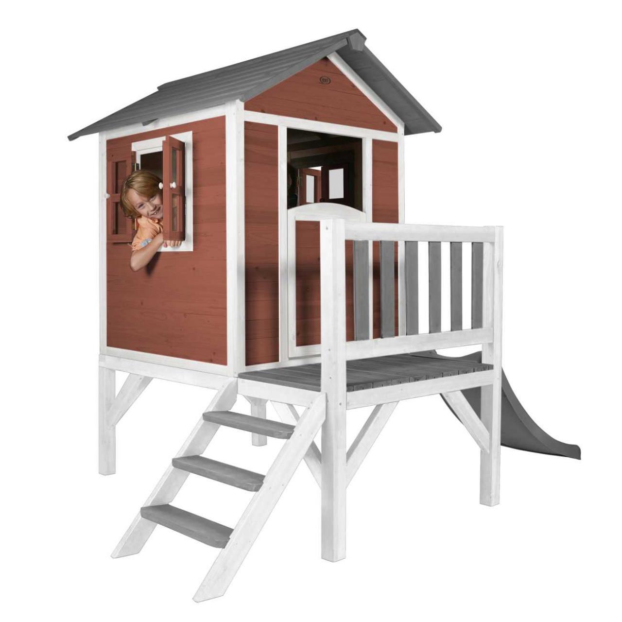 Stelzenhaus Lodge XL, Kinder, Spielhaus, mit Rutsche