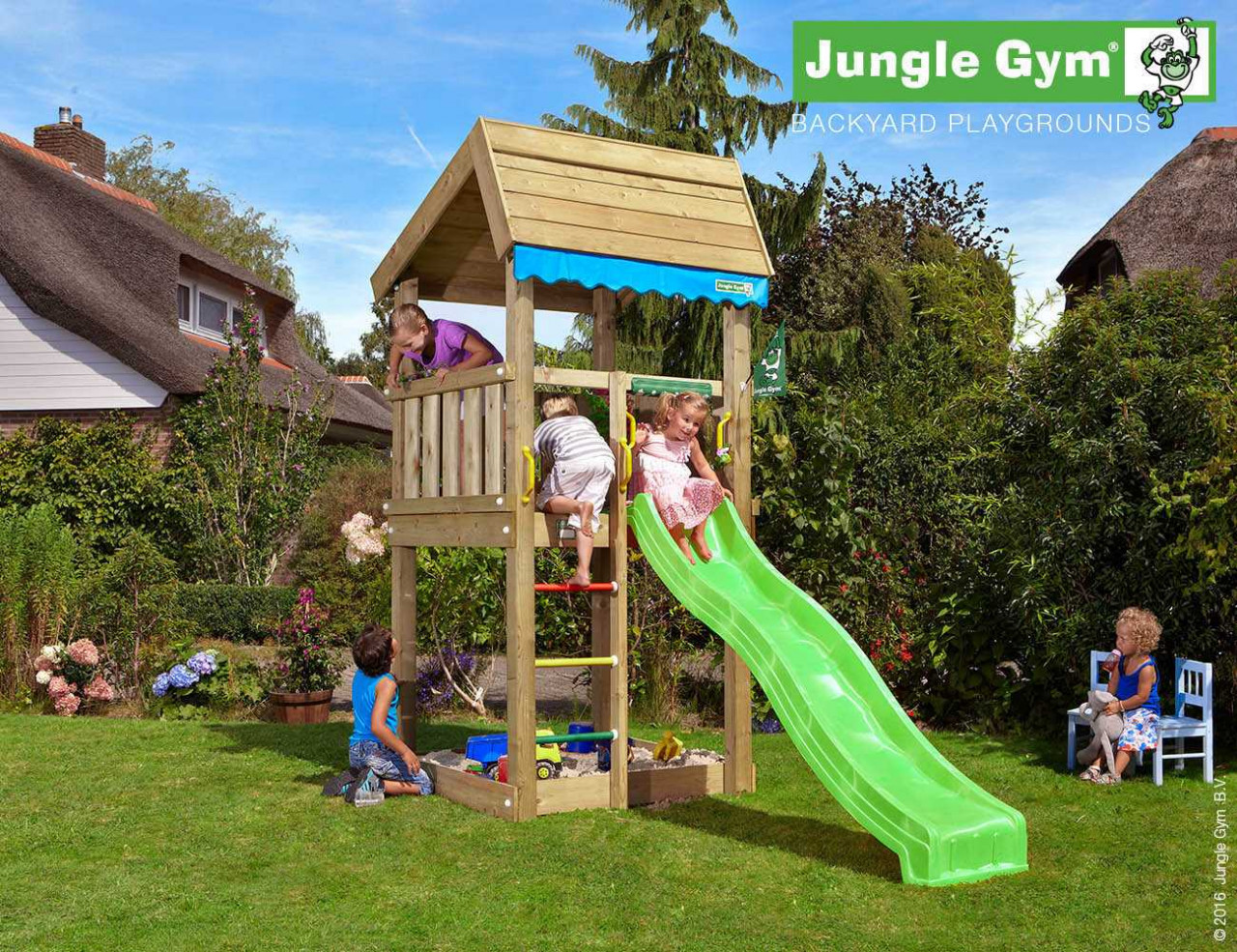 Spielturm Jungle Gym Home