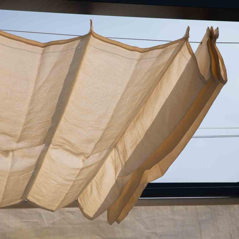 Coolfit Faltsonnensegel von Nesling 290 x 300 cm, Sonnensegel, verstellbar, Sonnenschutz