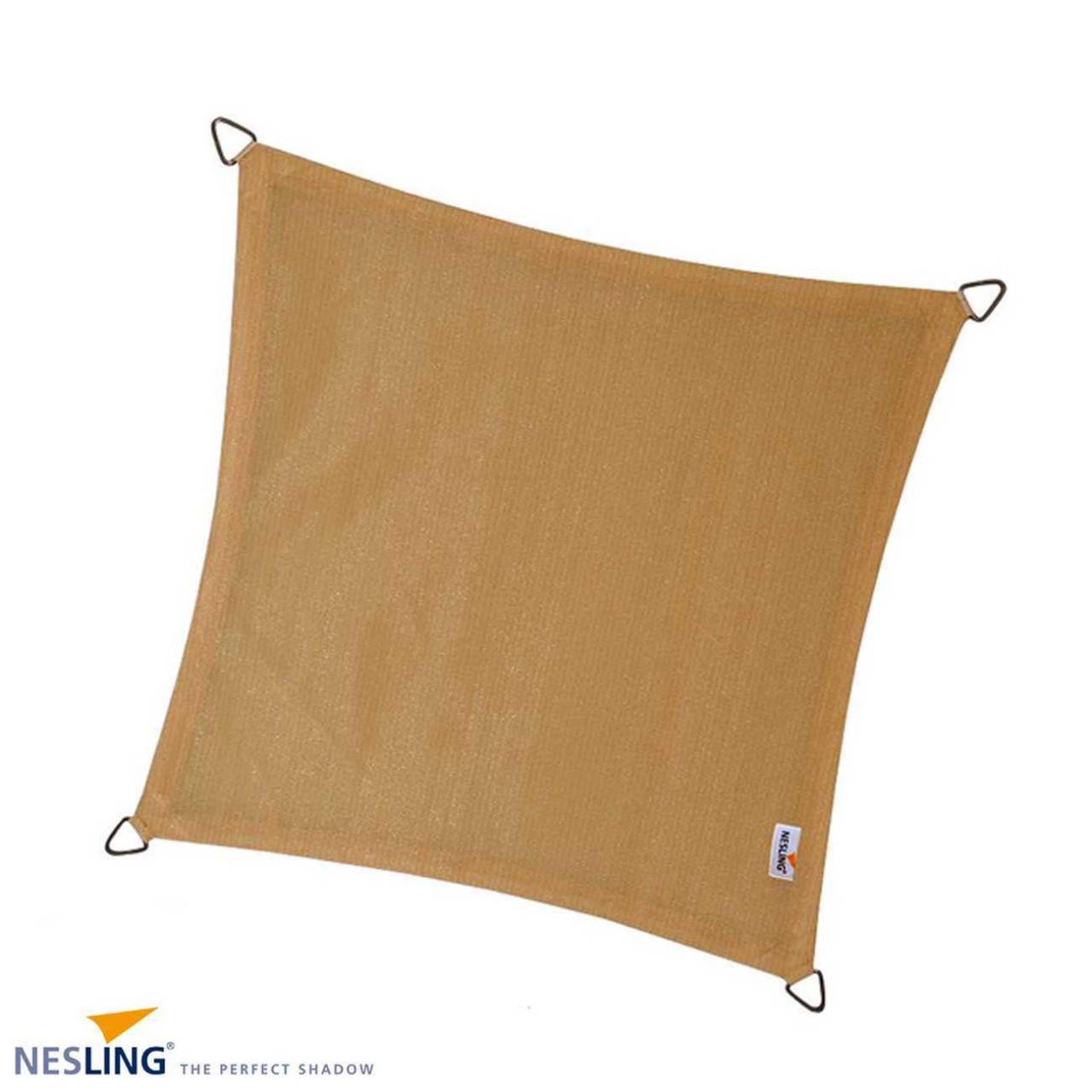 Sonnensegel von Nesling Quadrat 500 x 500 cm